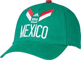 d96fe44cd88 adidas Mexico Soccer Green 2014 FIFA World Cup Adjustable Strapback Hat Cap