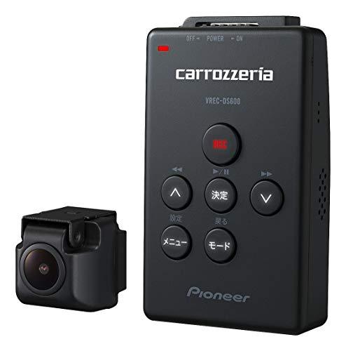 カロッツェリア(パイオニア) ドライブレコーダー VREC-DS600 212万画素 Full HD/WDR/GPS/Gセンサー/対角121...