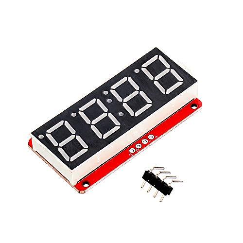 U – 4 cijfers 7 segmenten 0,56 inch LED-display buis 7 segmenten HT16K33 I2C wandklok dubbel-punt-module voor Arduino