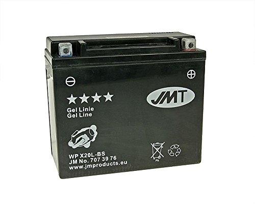 Batterie JMT GEL - YTX20L-BS 12 Volt - BOMBARDIER QUAD Outlander 800 06 [inkl. 7,50 € Batteriepfand]