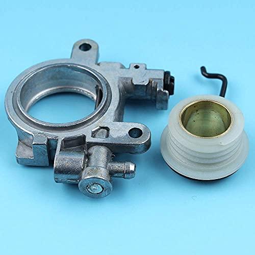 HaoYueDa Kit de Resorte de Bomba de Aceite y Engranaje helicoidal Compatible con Motosierra Stihl MS290 029039 MS310 MS390 MS311 MS391