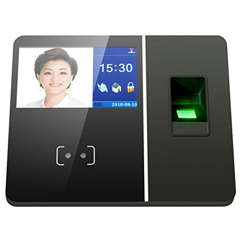 Best Prices! ZJXADS 4.3 inch TFT Screen,Fingerprint Face Recognition attendance Machine, Punch Card ...