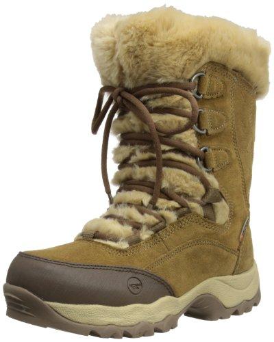 Hi-Tec ST Moritz 200 II Waterproof, Damen Trekking- und Wanderstiefel , Braun - Brown/Cream - Größe : 38