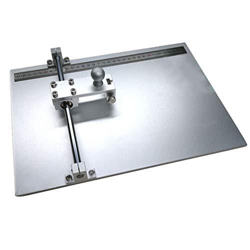 Cortador de vidrio conductivo de ITO del laboratorio FTO/AZO/tabla de corte de cristal del cuarzo