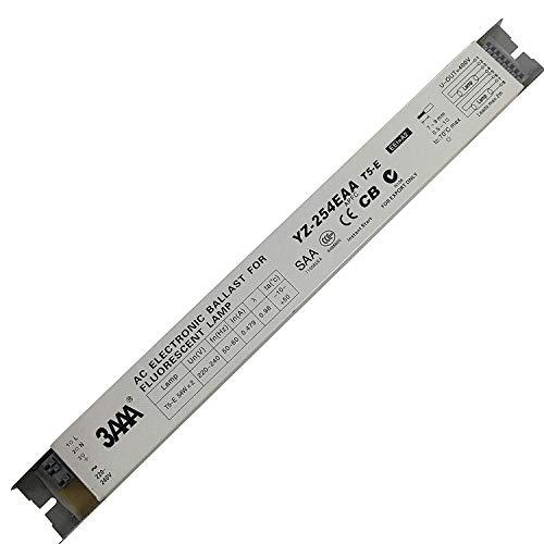 SHEAWA Elektronisches Vorschaltgerät YZ-254EAA T5-E 2X54W T5HO 54W 3AAA Elektronisches Vorschaltgerät