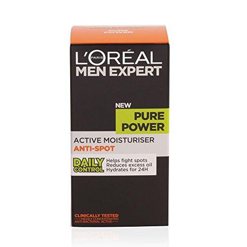 L'Oréal Men Expert Pure Power Anti-Spot Moisturiser for Oily Skin 50 ml