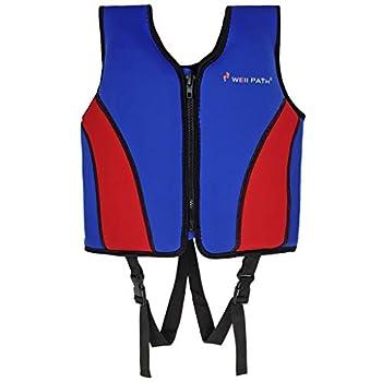 Gogokids Pool Floats Swim Vest Life Jacket Child Swim Flotation Training Swim Vest for 6-9 Years Boys and Girls Children Puddle/Beach As A Jumper