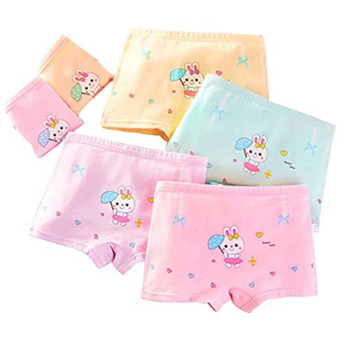 COMEYER Baby Mädchen weiche Baumwolle Panties Cartoon Druck Boxershorts Briefs Unterwäsche, XL,
