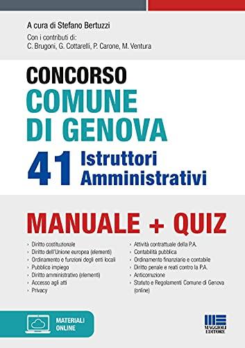 Concorso Comune di Genova 41 Istruttori Amministrativi