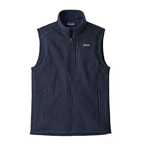 Patagonia M's Better Sweater Giubbotto da Uomo, Uomo, 25882, Blu Marino (New Navy), M