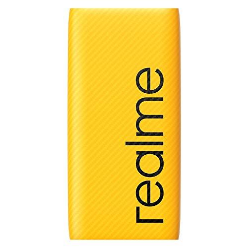 realme 10000 mAh Power Bank (Fast Charging, 30 W) Yellow