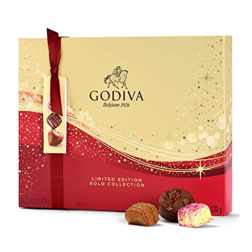 Godiva Geschenkbox zu Weihnachten Sonderedition, 300 g