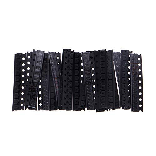 180 Stück 18 Werte SMD Transistor-Sortiment SOT-23 2N2222 S9013 S9014 S9015 S9018