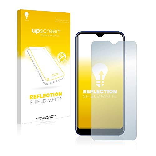 upscreen Entspiegelungs-Schutzfolie kompatibel mit Allview Soul X6 Mini – Anti-Reflex Bildschirmschutz-Folie Matt