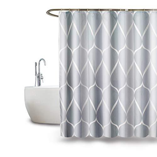 Duschvorhänge, Duschvorhang Anti Schimmel, Shower Curtains Duschvorhänge Anti-Schimmel Bad Vorhang für Dusche & Badewanne, 180 x 180 cm (A)