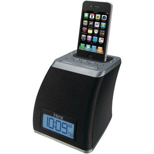 iHome iP21GVC App-Friendly 30-Pin iPod/iPhone Alarm Clock Speaker Dock(Not Compatible w/ iPhone 5)