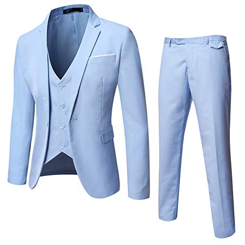 Baby Blue Blazer Mens