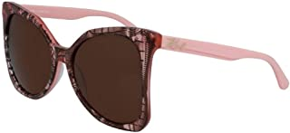 Karl Lagerfeld Butterfly KL967S Rose Sunglasses For Women, Pink 55 mm