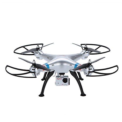 Syma origine X8G 2.4G 6Assi Gyro 4-CH Headless RC Quadcopter con Cam Ra spia HD
