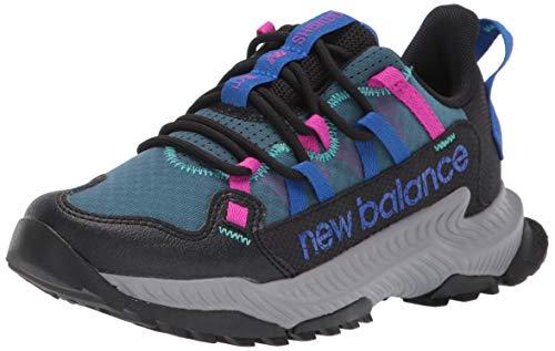 New Balance Womens DynaSoft Shando V1 Sneaker BlackCobaltPoison Berry 12