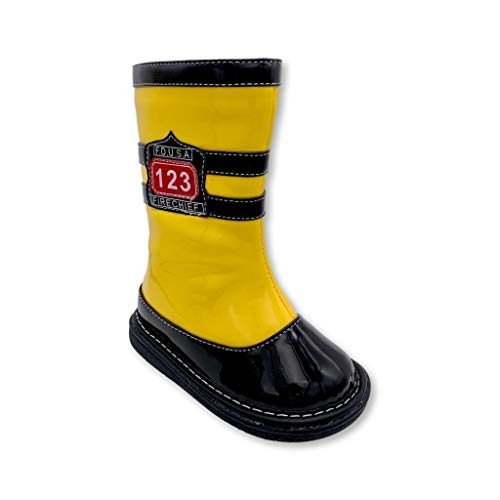 Wee Squeak Toddler Squeaky Boots Firefighter Size 3