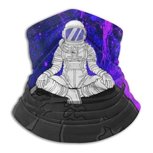 Akhy Multifunctional Headwear Face Mask Headband Neck Gaiter Space Astronaut Yoga...