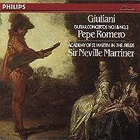 Giuliani: Guitar Concertos No.1 & No.3 by Pepe Romero