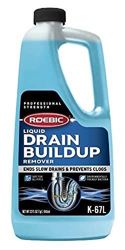 Roebic K67 | Desatascador de Tuberías y Desagües Liquido | Producto 100% Orgánico | 946 ml