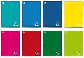 Blasetti Colorface Quaderno per Scrivere 36 Fogli Multicolore , A4, 10 Pezzi