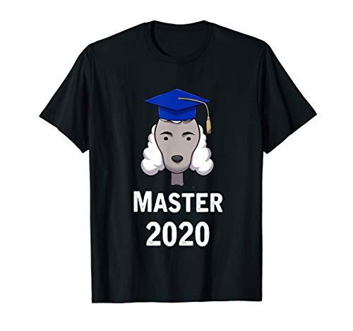 Cooles Master Studienabschluss Uni Geschenk Pudel T-Shirt