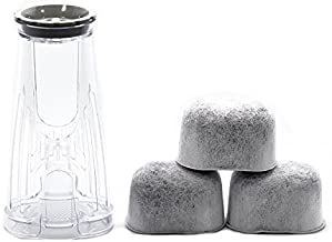 Keurig Starter Kit Replacement for Keurig 2.0 K200, K250, K35, K-Duo and K-Compact Coffee Makers by PureHQ - Includes Filter Holder and 3 Pack of Keurig Compatible Water Filters