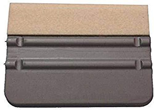 INDIGOS UG Verkleberakel - Filzrakel - 10 x 7 cm - mittelhart - erleichtert das Anbringen von Folien