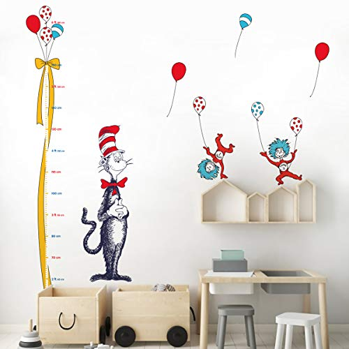 wall growth chart decal - 7