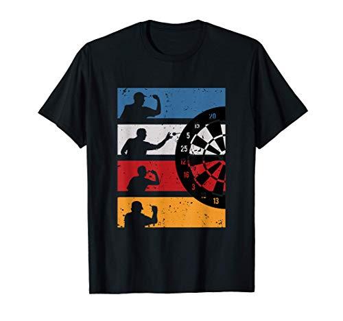 Vintage Dart Shirt Graphik Design Geschenk Für Dartspieler T-Shirt
