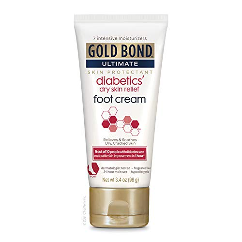 Gold Bond Ultimate Diabetic Skin Relief Foot Cream,...
