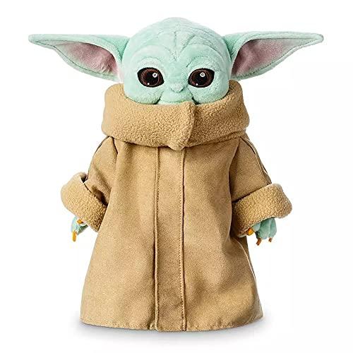 ITNP Star Wars Baby Yoda Peluche de Star Wars De Star Wars Baby Yoda Plushie Star Wars The Child-Mandalorian para Niños Colección De Navidad Regalo 25 centimetros