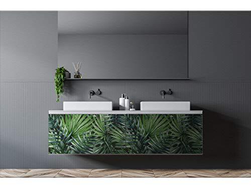 Oedim Vinilo Decorativo para Muebles Hojas | Vinilo Ecológico | 150 x 100cm | Autoadhesivos para Decorar o Renovar Muebles, Suelos y Paredes