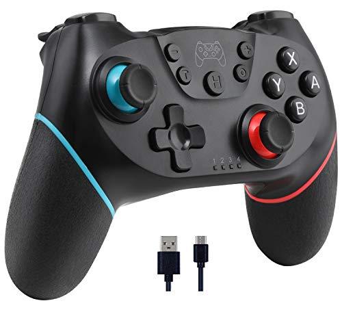 OLIMOXI Switch Controller für Nintendo Switch, Remote Switch Pro Controller Gamepad Joypad, Joystick für Nintendo Switch Konsole, unterstützt Gyro Achse, Turbo und Dual Vibration