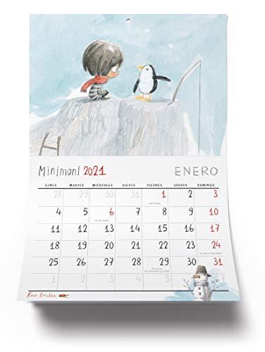 Calendario Minimoni 2021 (Álbumes ilustrados)