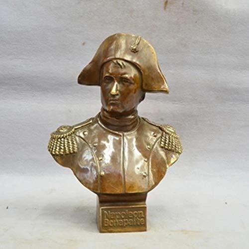LOSAYM Estatuas para Jardín Esculturas Y Estatuas De Jardín Personajes Occidentales Busto De Napoleón Estilo Europeo Estatua Modelo Decoraciones para El Hogar