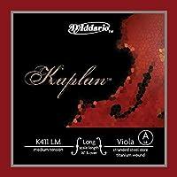 D'Addario ダダリオ ヴィオラ用 バラ弦 Kaplan Forza A-String Long Scale K411 LM Medium Tension 【国内正規品】
