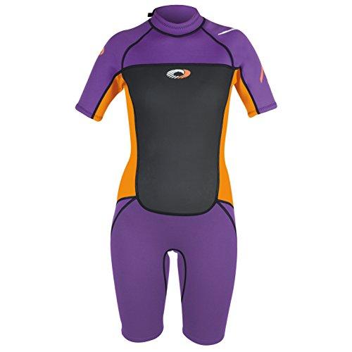 Osprey Mädchen Origin Shorty Neoprenanzug, violett, xs