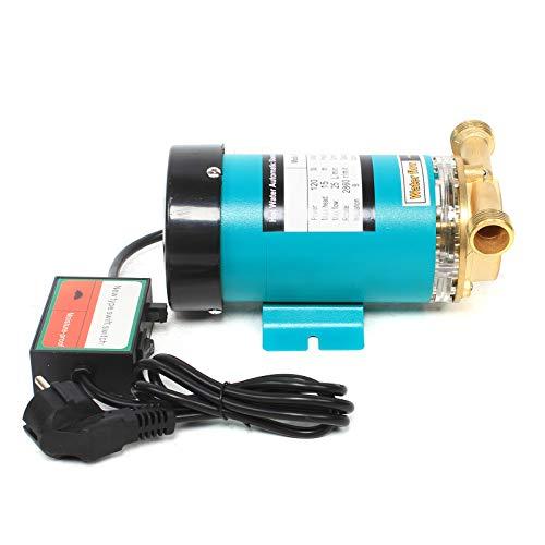 90W / 120W 220V Druckerhöhungspumpe Druckpumpe Automatik Haushalt Warmwasserpumpe Garten Wasserpumpe und Umwandlungspumpe für Haus und Garten Wasserdruck (120W 25L)