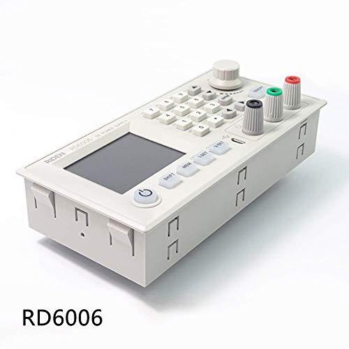 TXYFYP Potencia Suministro Módulo RD6006 Amperímetro Digital Reductor Voltímetro DC Voltaje Reductor Electrónico Multi Probador Convertidor Integradas Pantalla LCD RD6006W S06A B Tabla WiFi (RD6006)