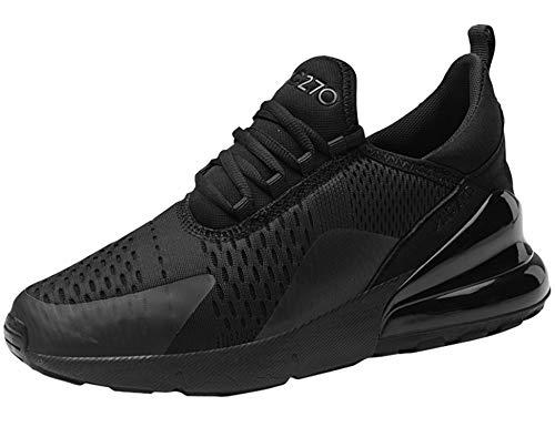 GNEDIAE Donna AIC 270 a Collo Basso Scarpe da Ginnastica Sportive Sneakers Running Basse Basket Sport Outdoor Fitness Sneakers- Molti Colori Nero 36 EU