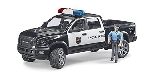 Bruder 02505 - RAM 2500 Polizei Pickup mit Polizist