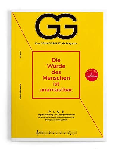 Das Grundgesetz als Magazin - Ausgabe 2020: Die Würde des Menschen ist unantastbar