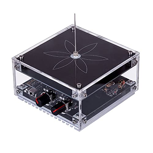 KKmoon AC110-220V Bobina di Tesla di MusicaPiatta, Musica BT Modalità Doppia Frequenza Fissa