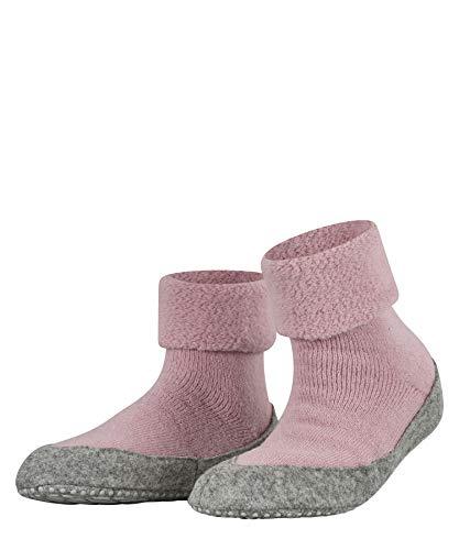 FALKE Damen Cosyshoe W HP Hausschuh-Socken, Blickdicht, Rosa (Almond Blossom 8449), 37-38