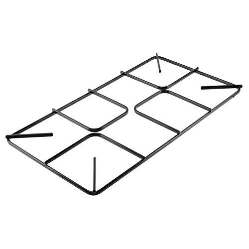 spares2go flach Gasherd Pfanne Unterstützung Raster für Kaminöfen Ofen Kochfeld (455mm X 215mm, klein)